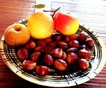 primeiras castañas, últimas mazás