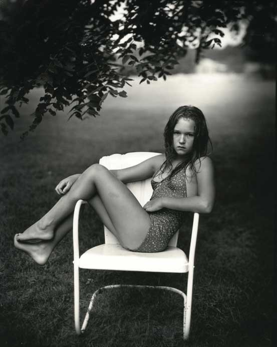 Sally Mann at twelve